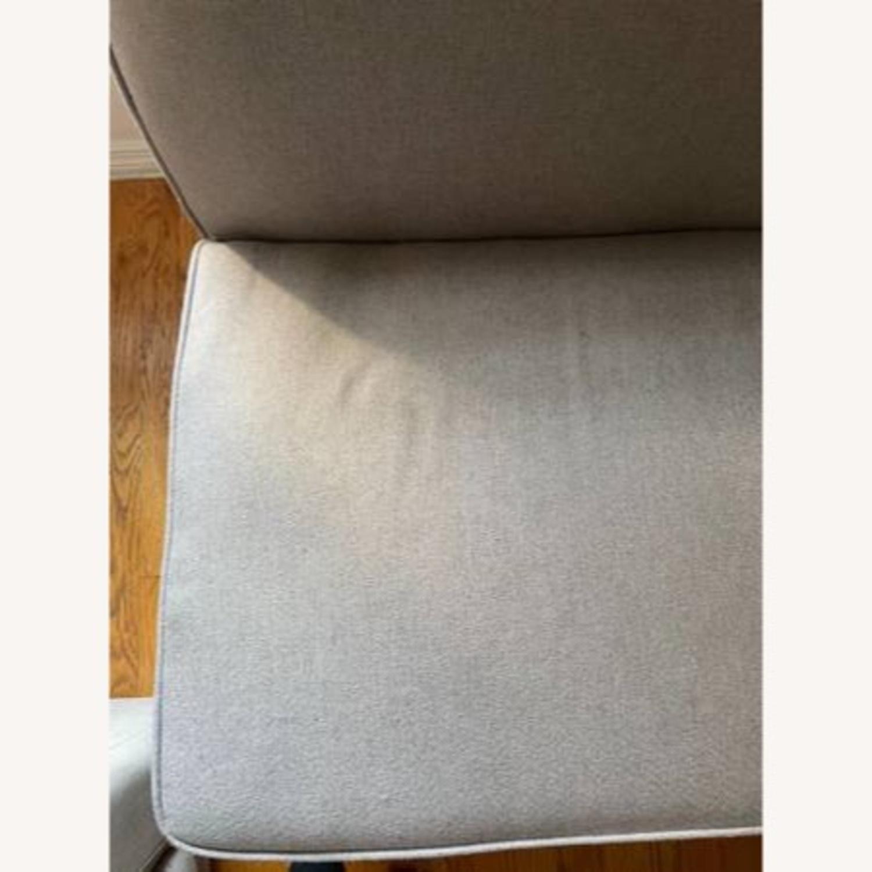Wayfair Grey Fabric Couch - image-3