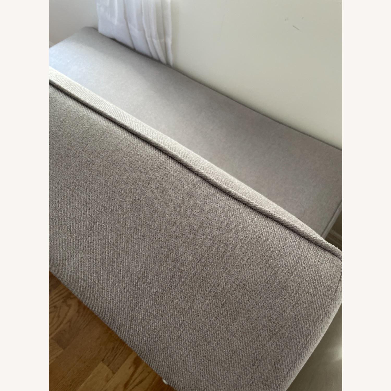 Wayfair Grey Fabric Couch - image-21