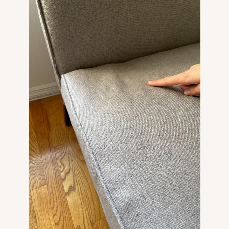 Wayfair Grey Fabric Couch - image-25