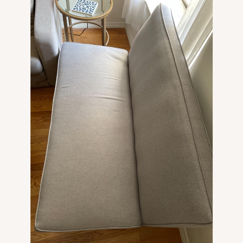 Wayfair Grey Fabric Couch - image-17
