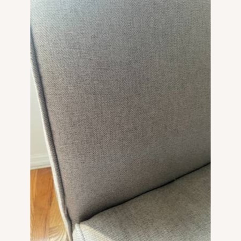 Wayfair Grey Fabric Couch - image-11