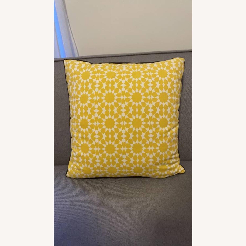 Floral & Geometric Accent Pillow - image-2