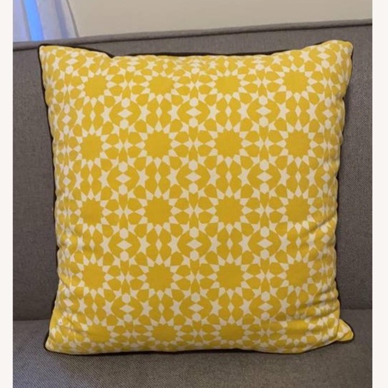 Floral & Geometric Accent Pillow - image-12