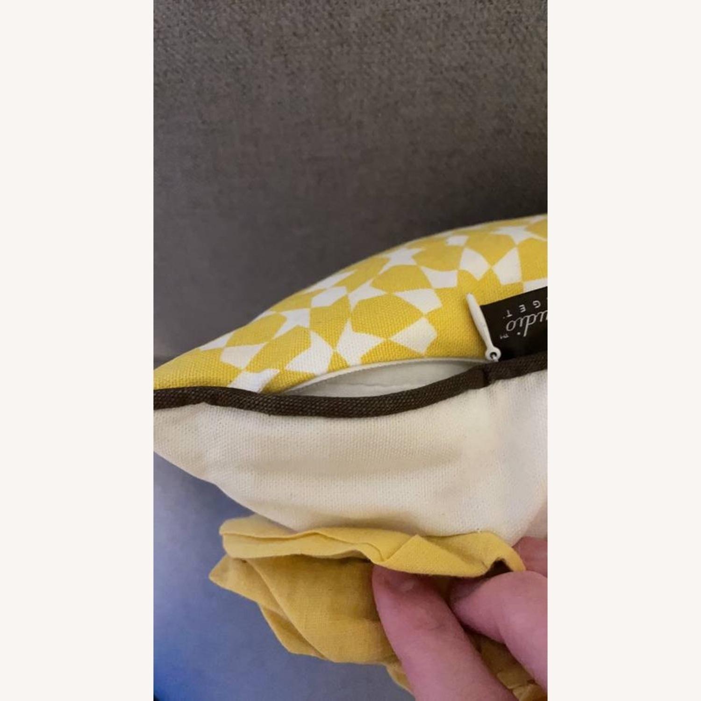 Floral & Geometric Accent Pillow - image-10