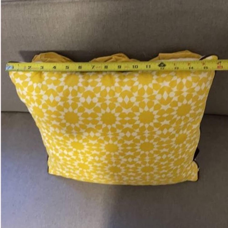 Floral & Geometric Accent Pillow - image-17