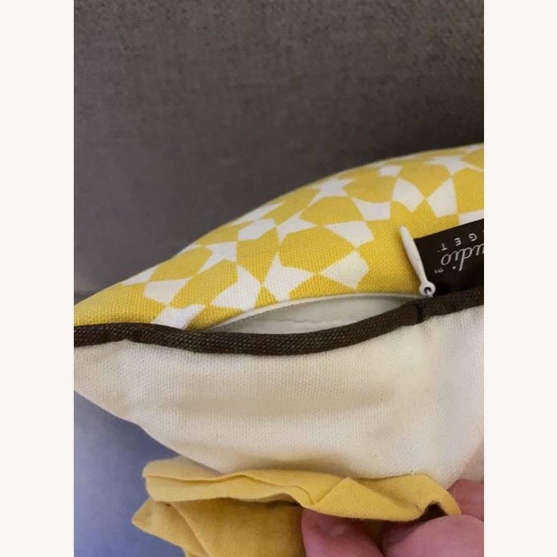 Floral & Geometric Accent Pillow - image-18