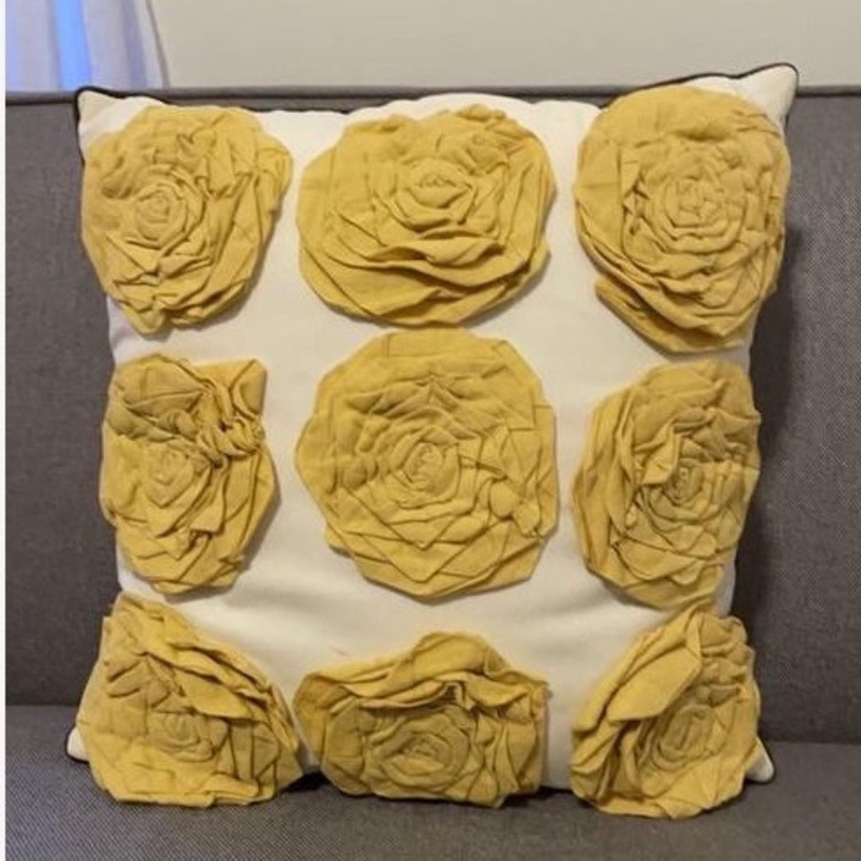 Floral & Geometric Accent Pillow - image-11