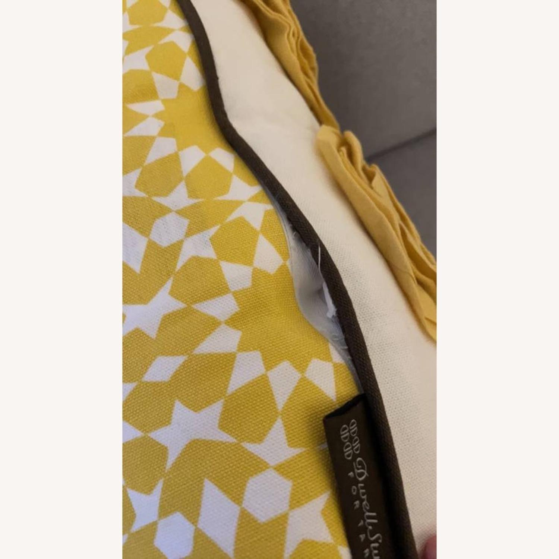 Floral & Geometric Accent Pillow - image-7