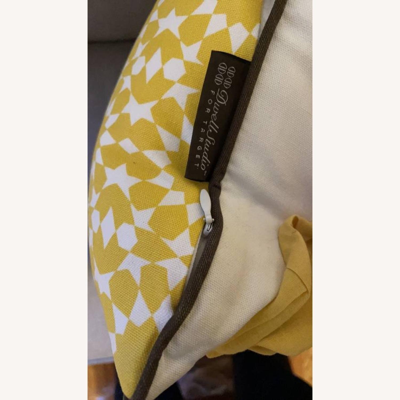 Floral & Geometric Accent Pillow - image-8
