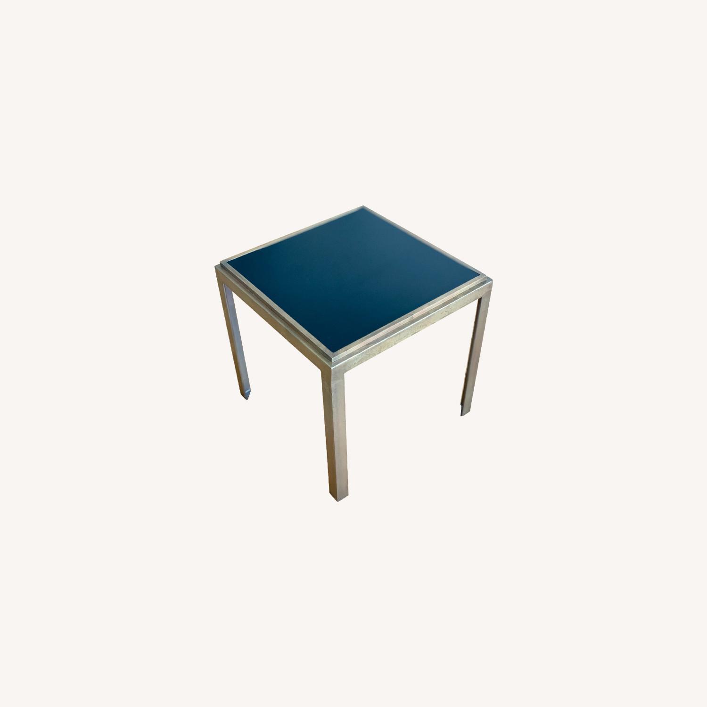 Crate & Barrel Square Side Tables (set of 2) - image-0