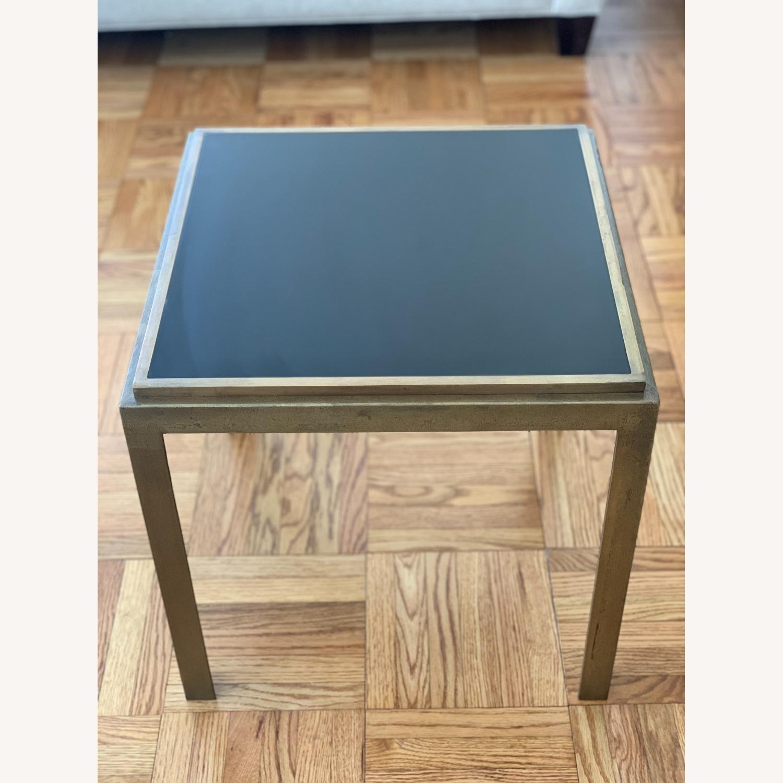 Crate & Barrel Square Side Tables (set of 2) - image-2