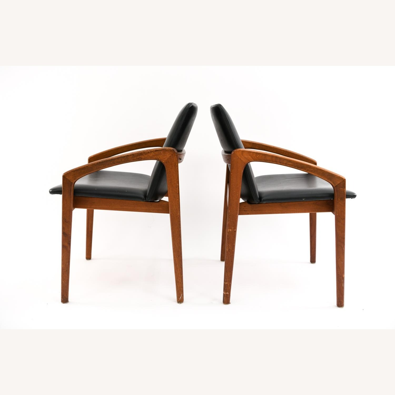 Danish Mid-Century Kai Kristiansen Chairs (Pair) - image-1