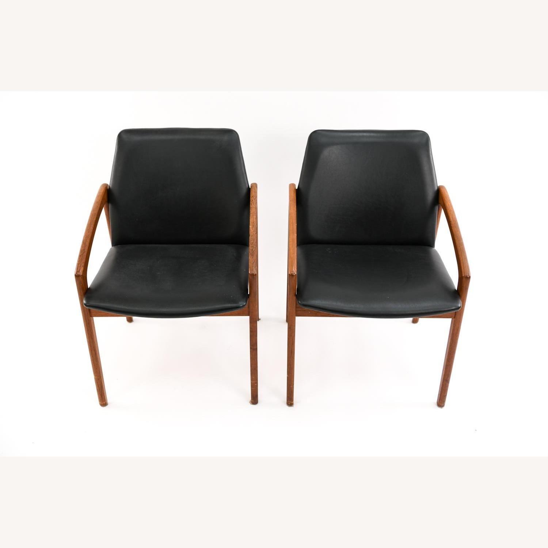 Danish Mid-Century Kai Kristiansen Chairs (Pair) - image-8