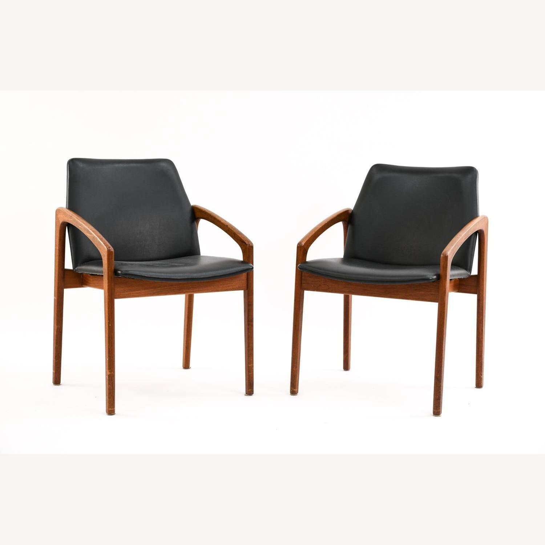 Danish Mid-Century Kai Kristiansen Chairs (Pair) - image-2