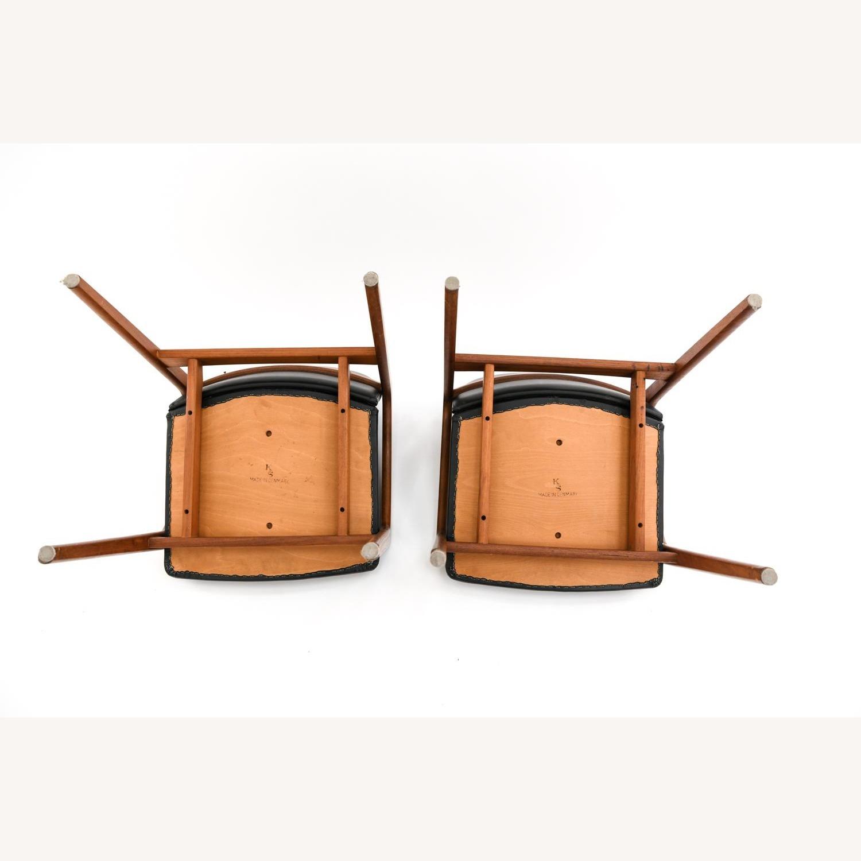 Danish Mid-Century Kai Kristiansen Chairs (Pair) - image-9