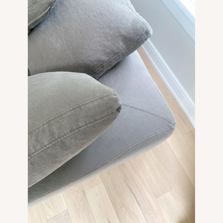 Restoration Hardware Cloud Couch 2 Piece Grey - image-11