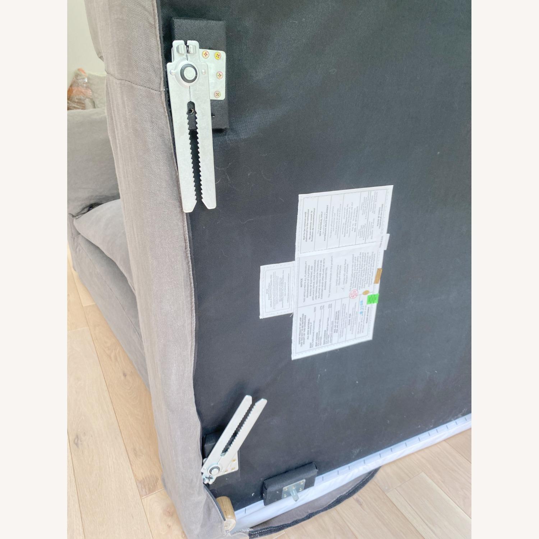 Restoration Hardware Cloud Couch 2 Piece Grey - image-18