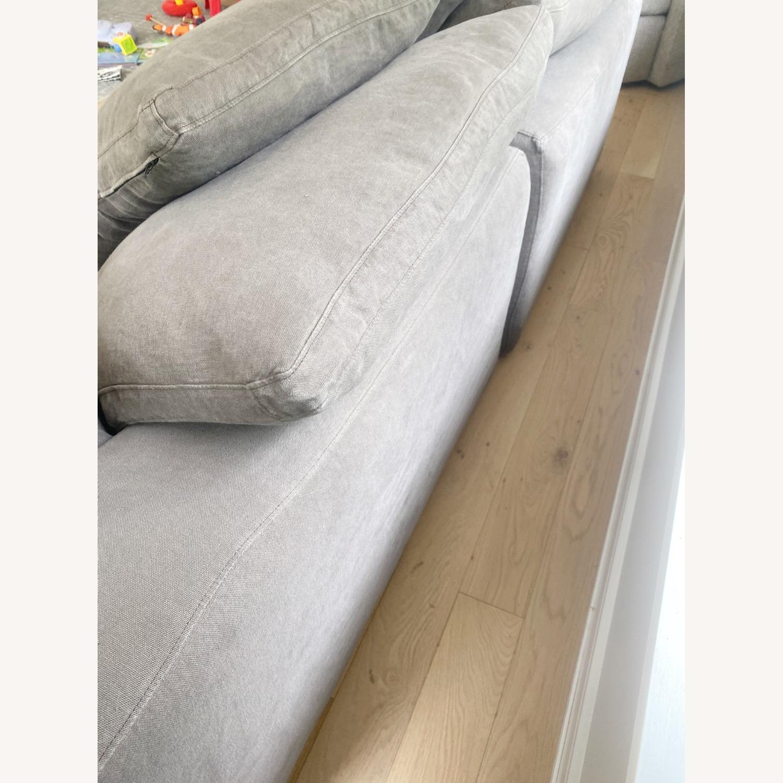 Restoration Hardware Cloud Couch 2 Piece Grey - image-16