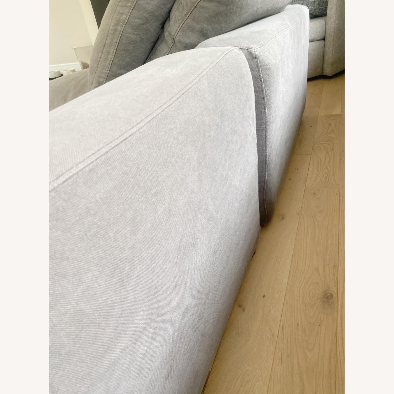 Restoration Hardware Cloud Couch 2 Piece Grey - image-17