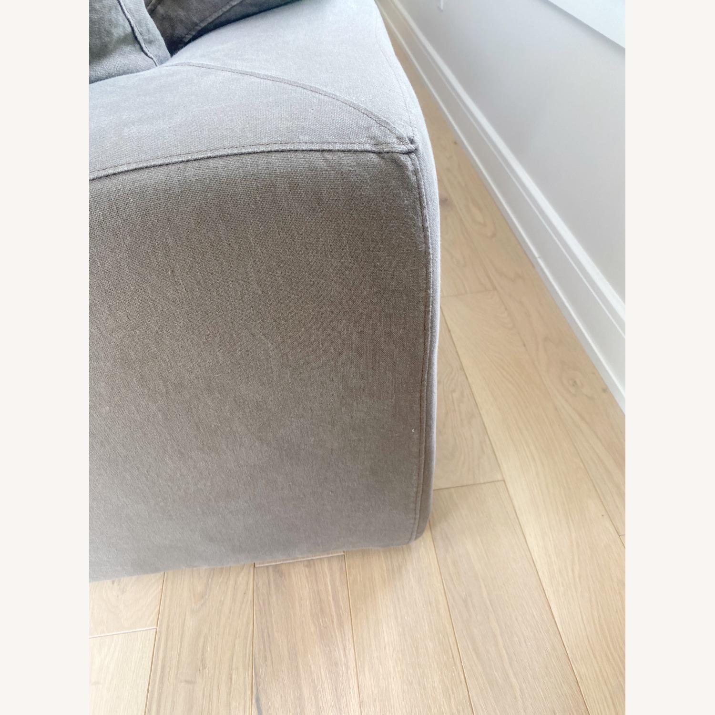 Restoration Hardware Cloud Couch 2 Piece Grey - image-15