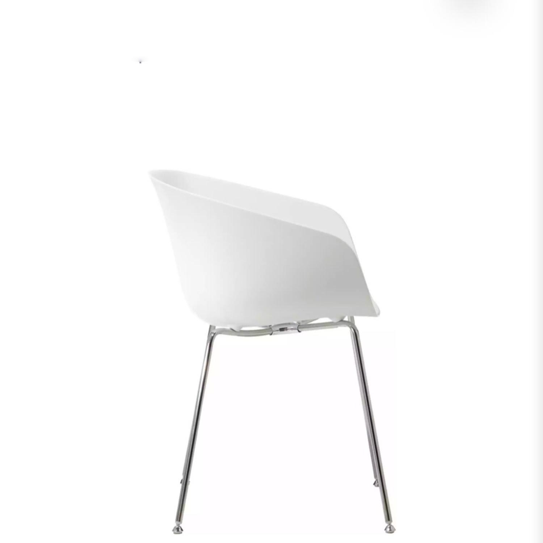 CB2 Poppy White Chair - image-4