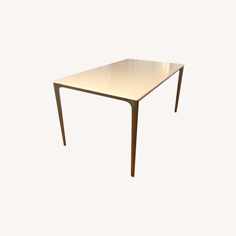 West Elm Canto Quartz Dining Table - image-0