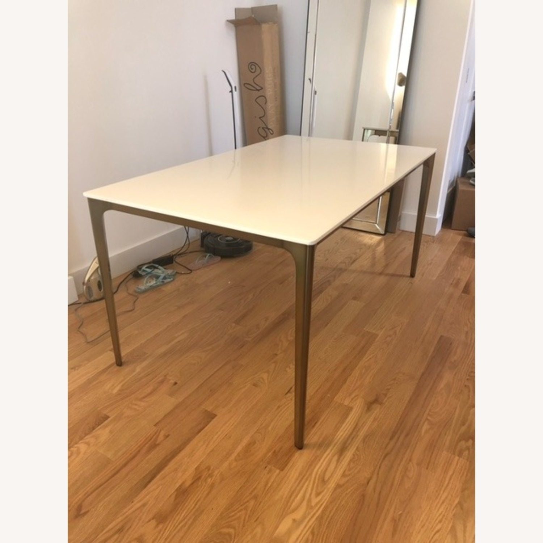 West Elm Canto Quartz Dining Table - image-2