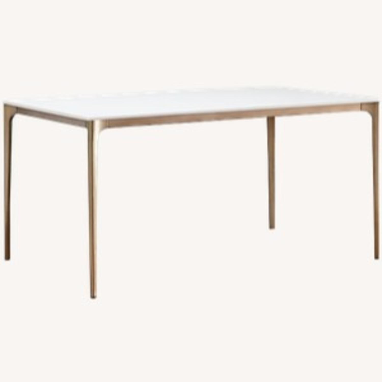 West Elm Canto Quartz Dining Table - image-1