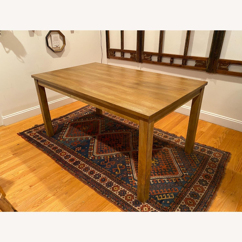 Rectangular Wood Dining Table - image-2