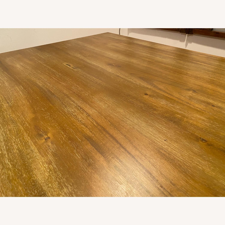 Rectangular Wood Dining Table - image-5