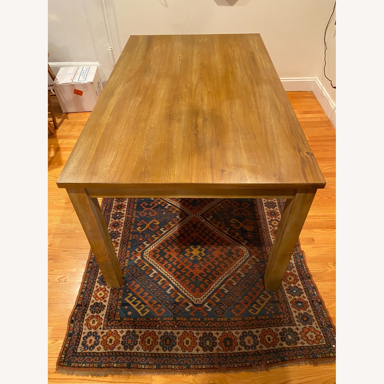 Rectangular Wood Dining Table - image-3
