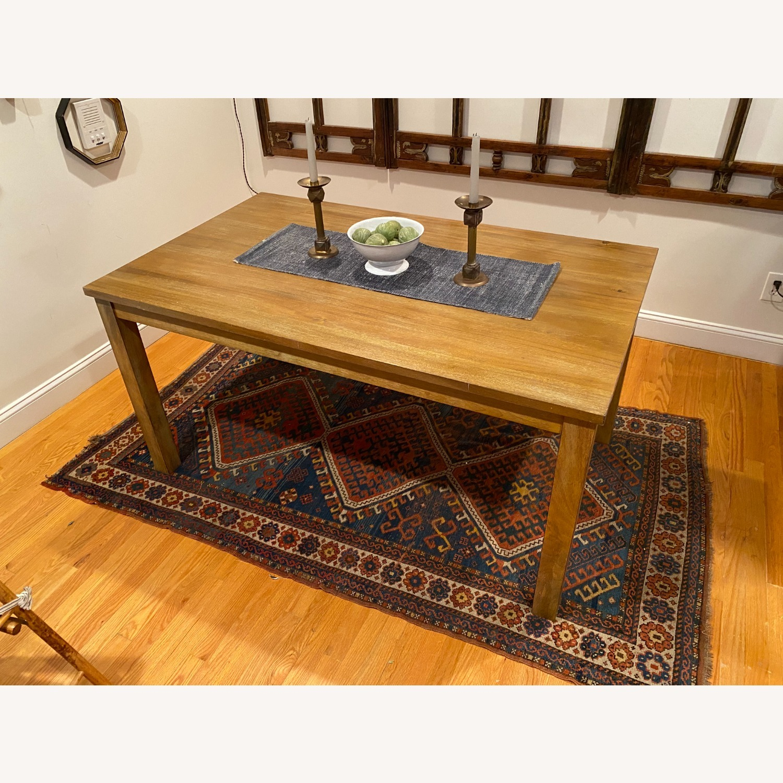 Rectangular Wood Dining Table - image-1