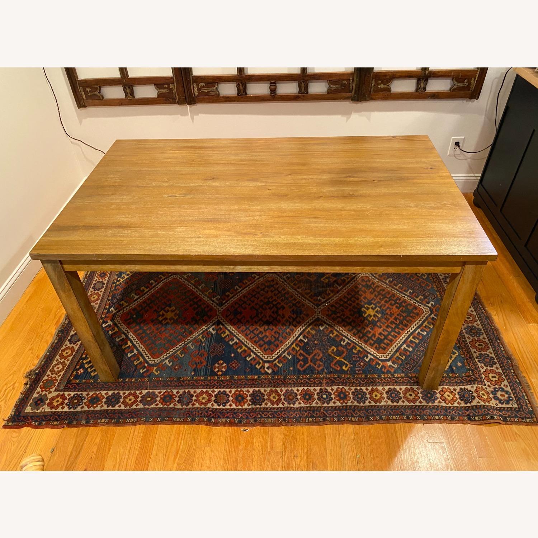 Rectangular Wood Dining Table - image-4
