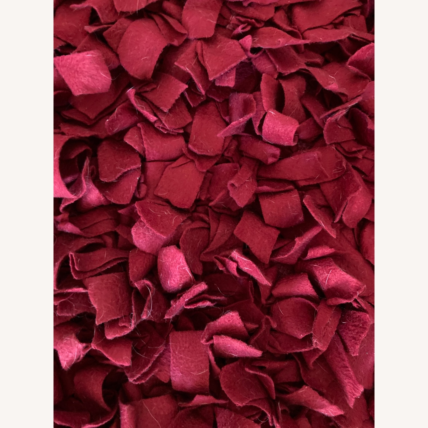 ABC Carpet & Home Red Wool Felted Rug - image-2