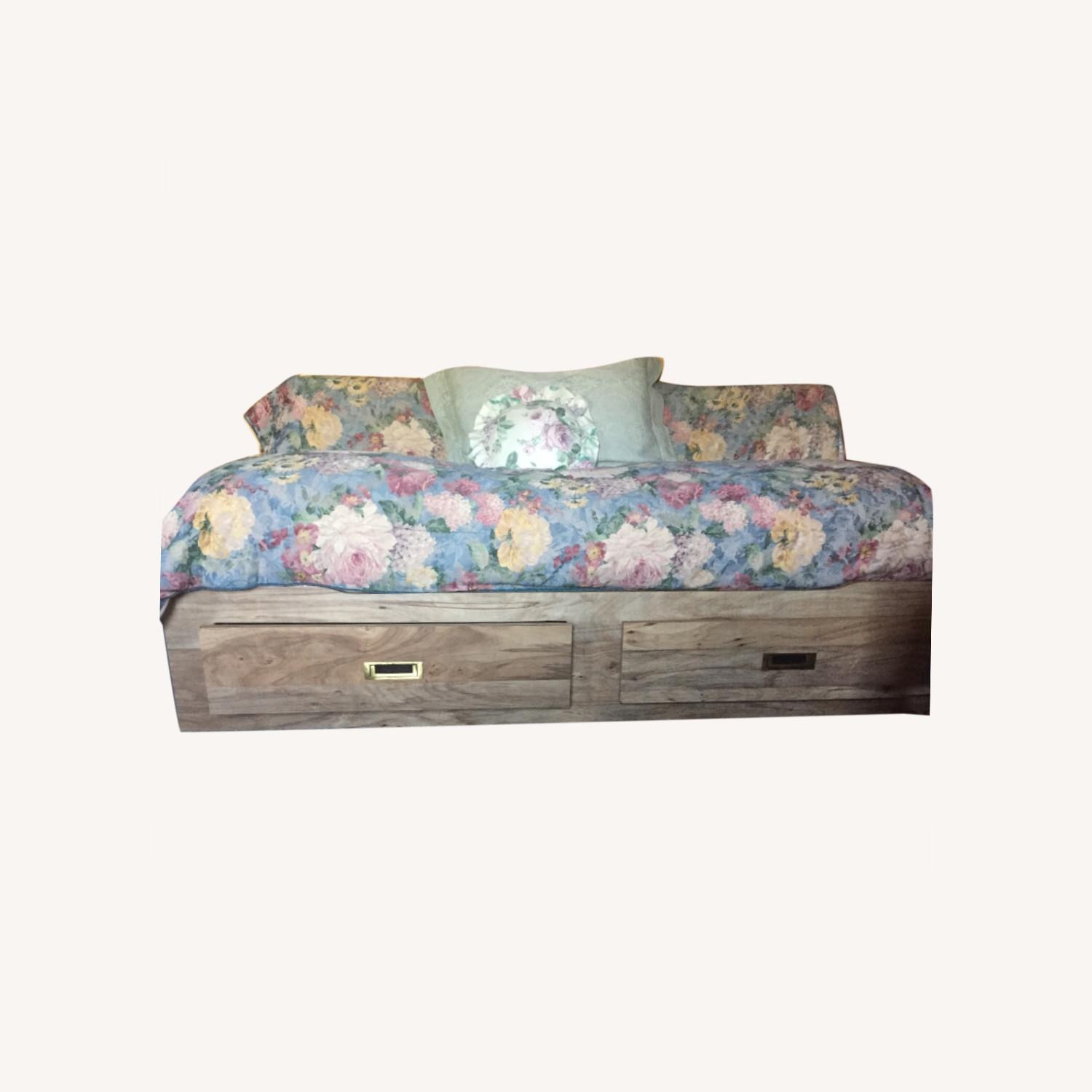 Twin Captain / Platform Bed with 2 Drawers - image-0
