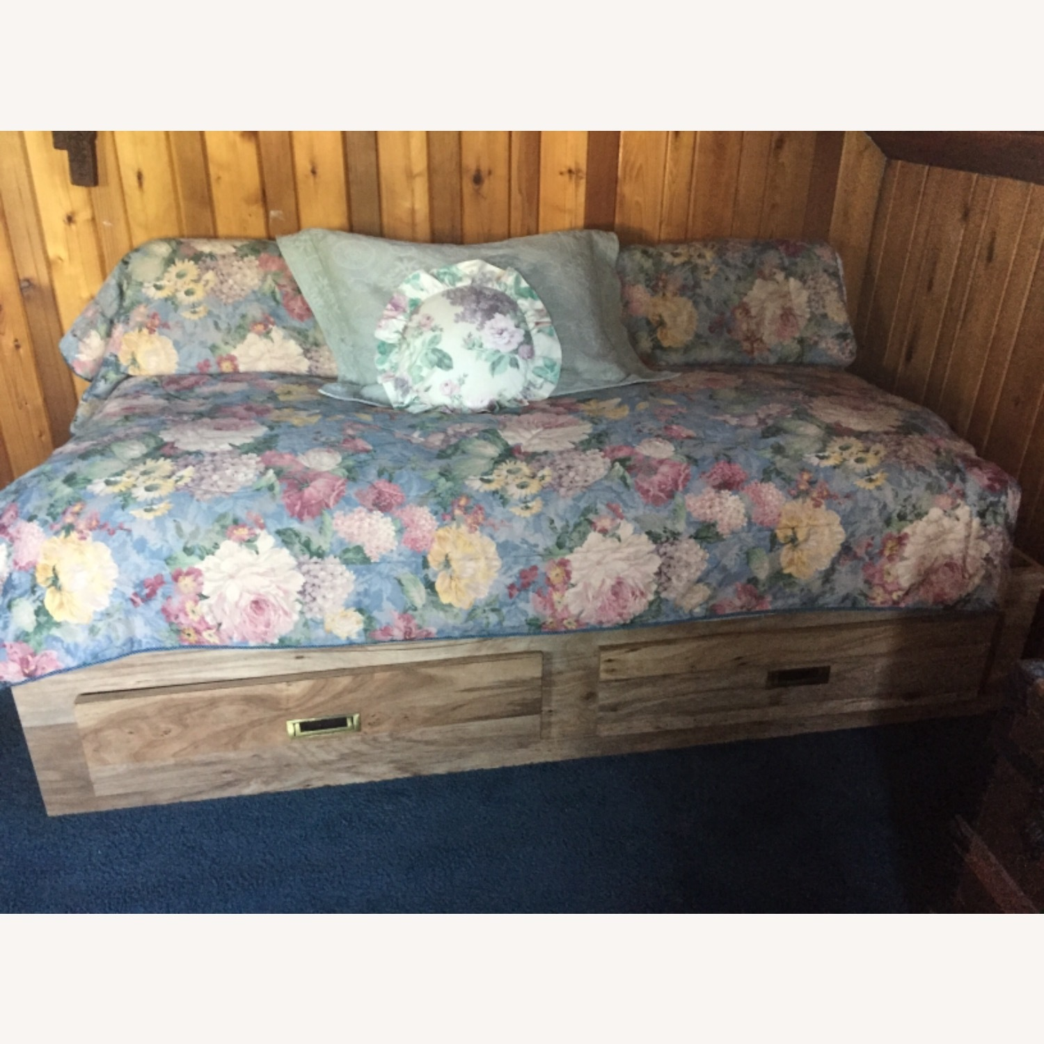 Twin Captain / Platform Bed with 2 Drawers - image-9