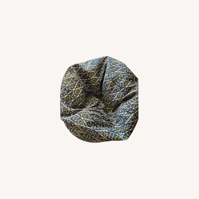 West Elm Bean Bag Chair - image-0
