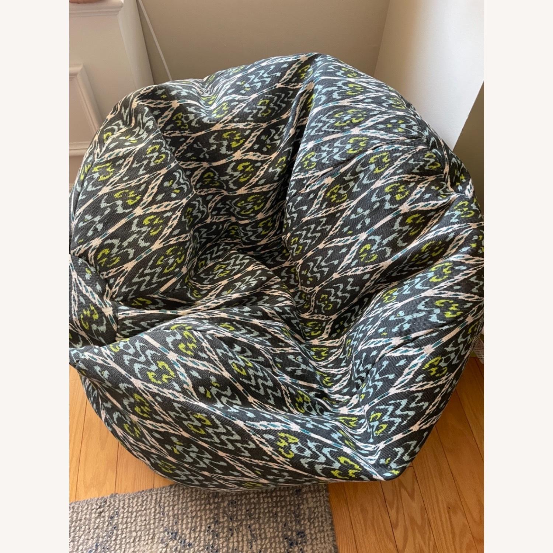 West Elm Bean Bag Chair - image-2