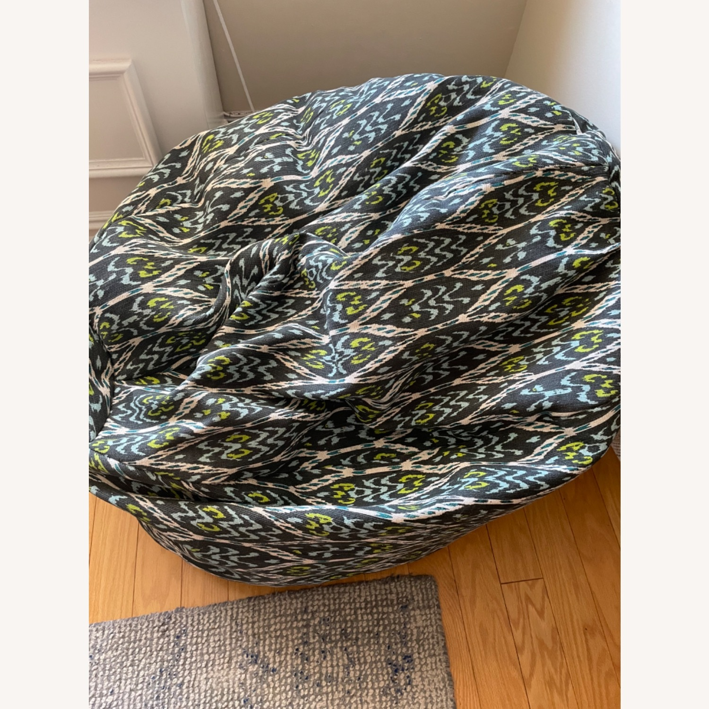 West Elm Bean Bag Chair - image-3