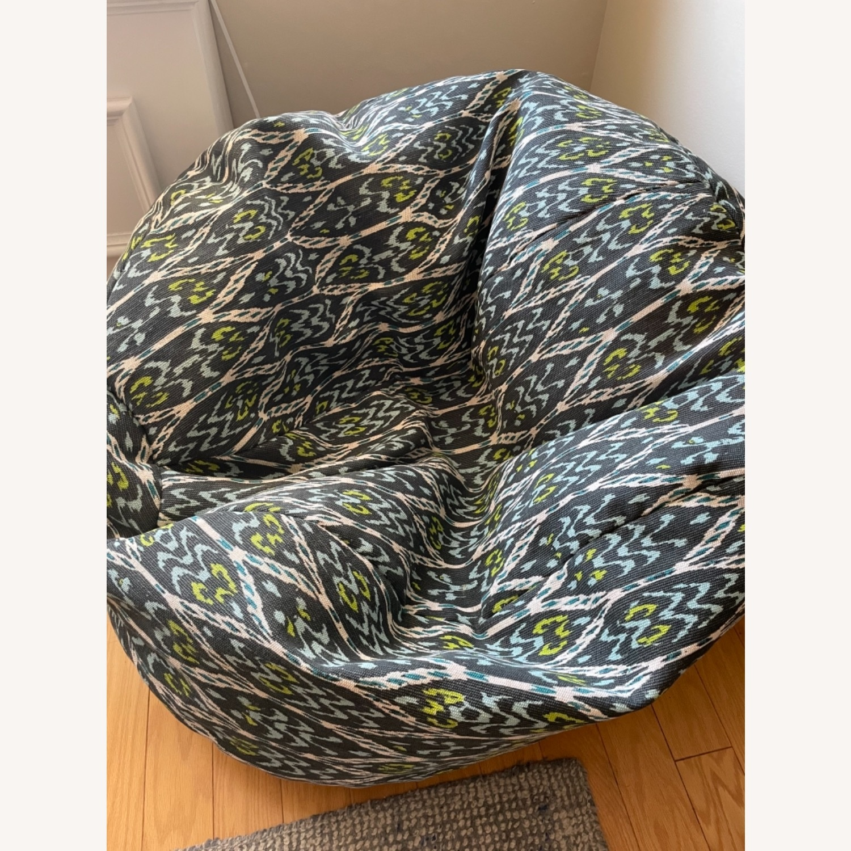 West Elm Bean Bag Chair - image-4