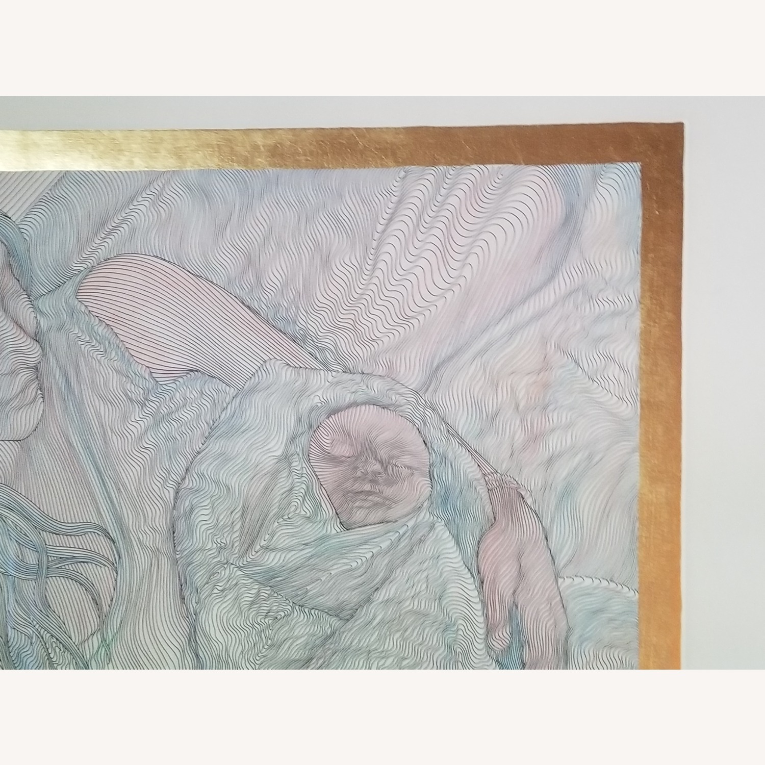 Guillaume Azoulay Original Line Drawing Lithograph - image-4