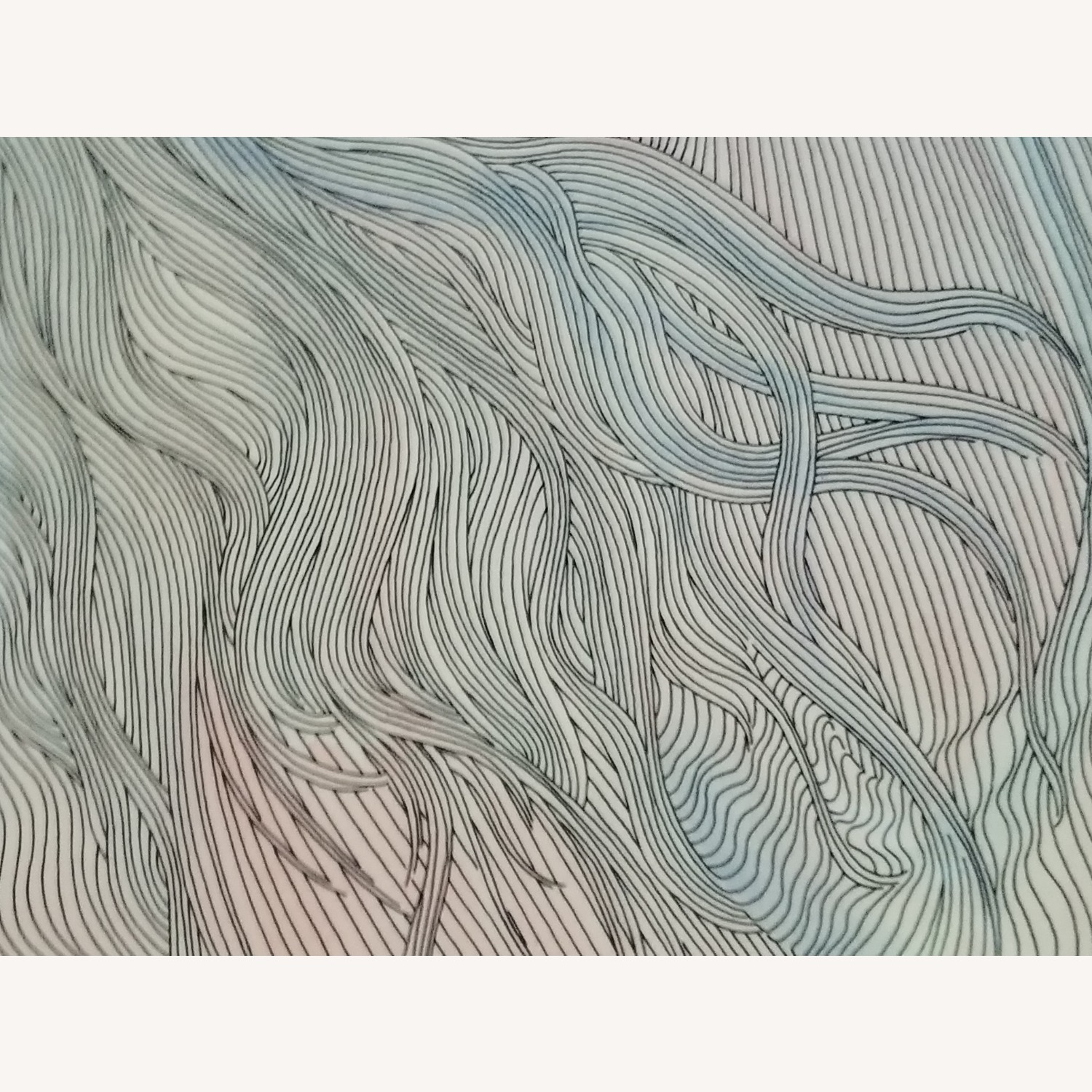 Guillaume Azoulay Original Line Drawing Lithograph - image-6