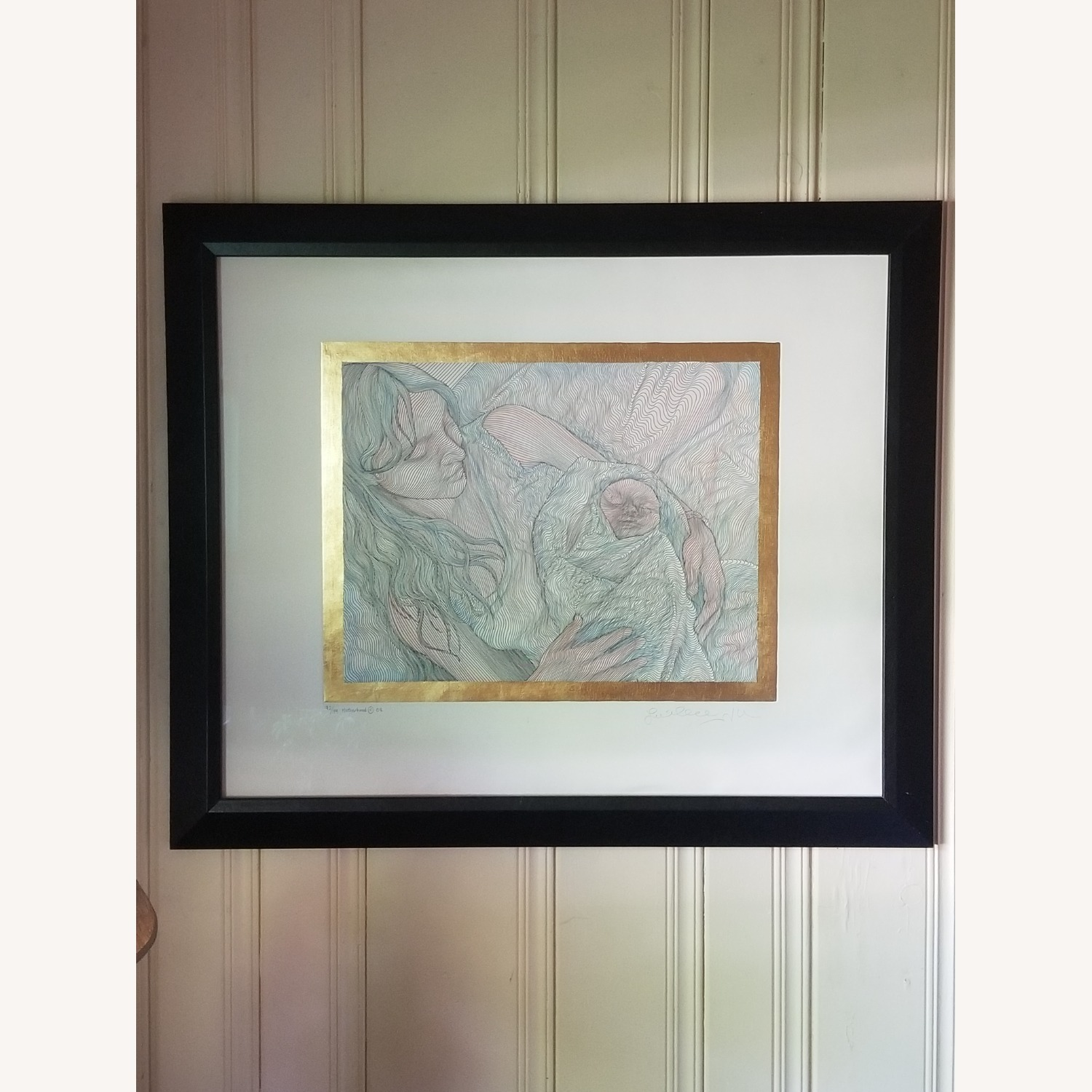 Guillaume Azoulay Original Line Drawing Lithograph - image-1