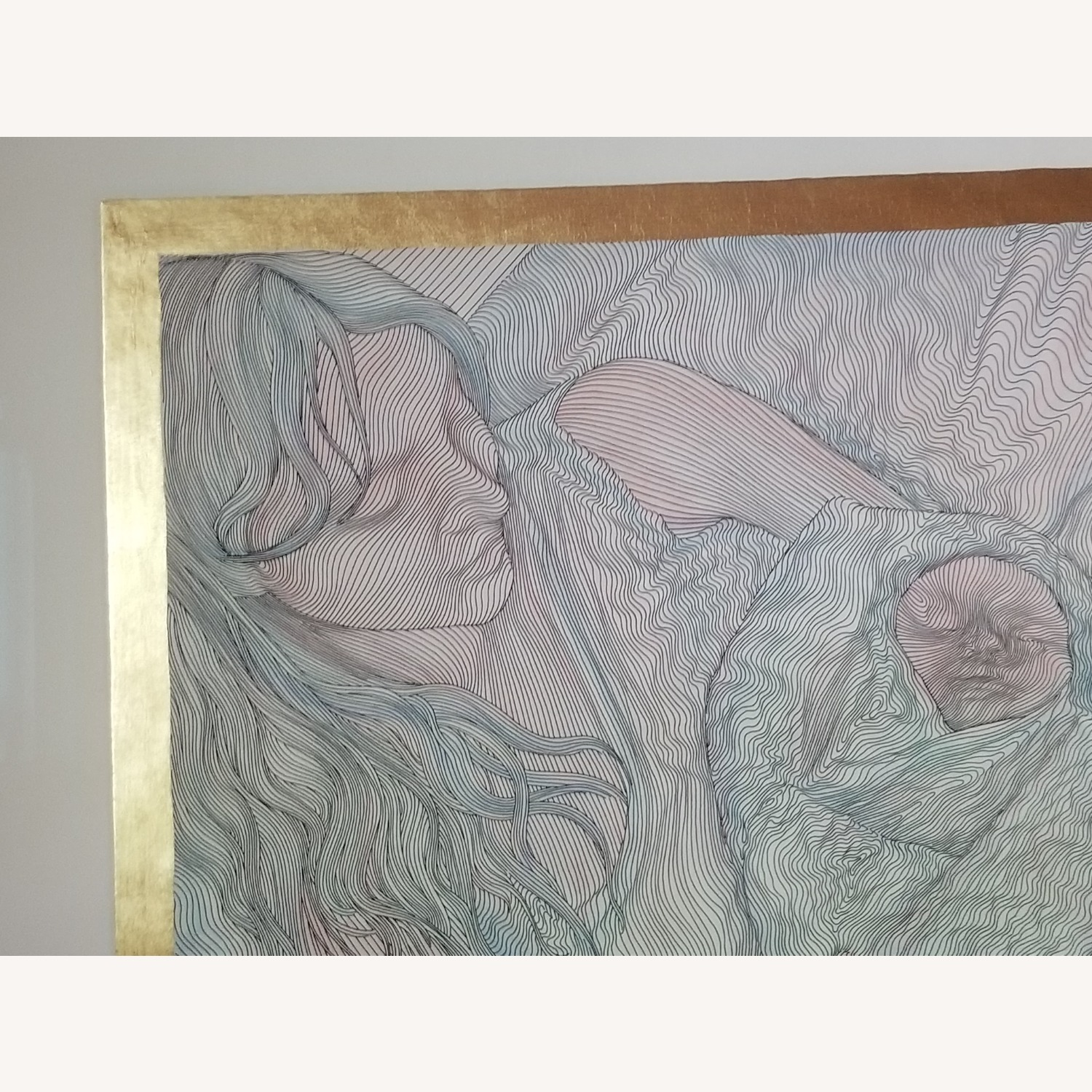Guillaume Azoulay Original Line Drawing Lithograph - image-10
