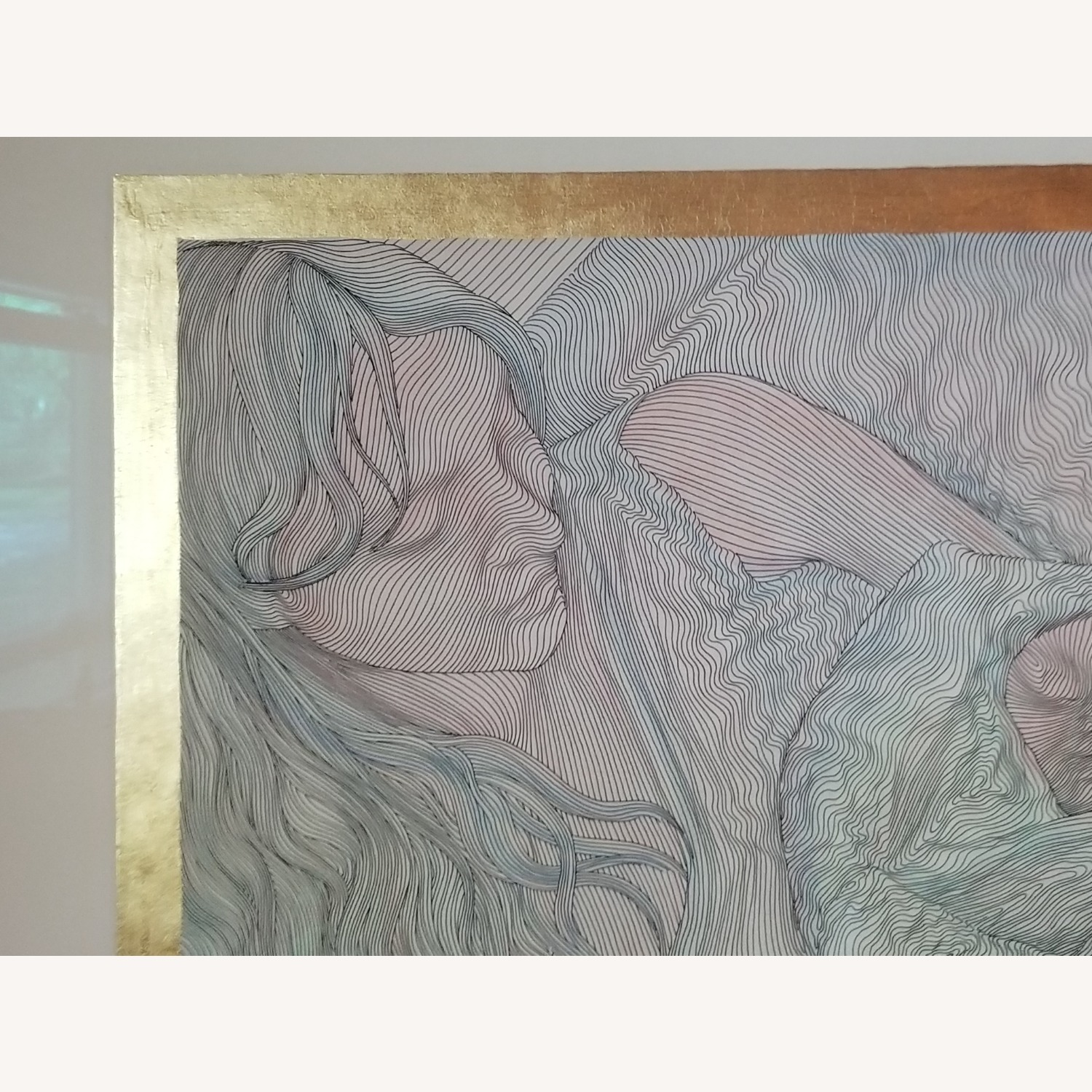 Guillaume Azoulay Original Line Drawing Lithograph - image-2