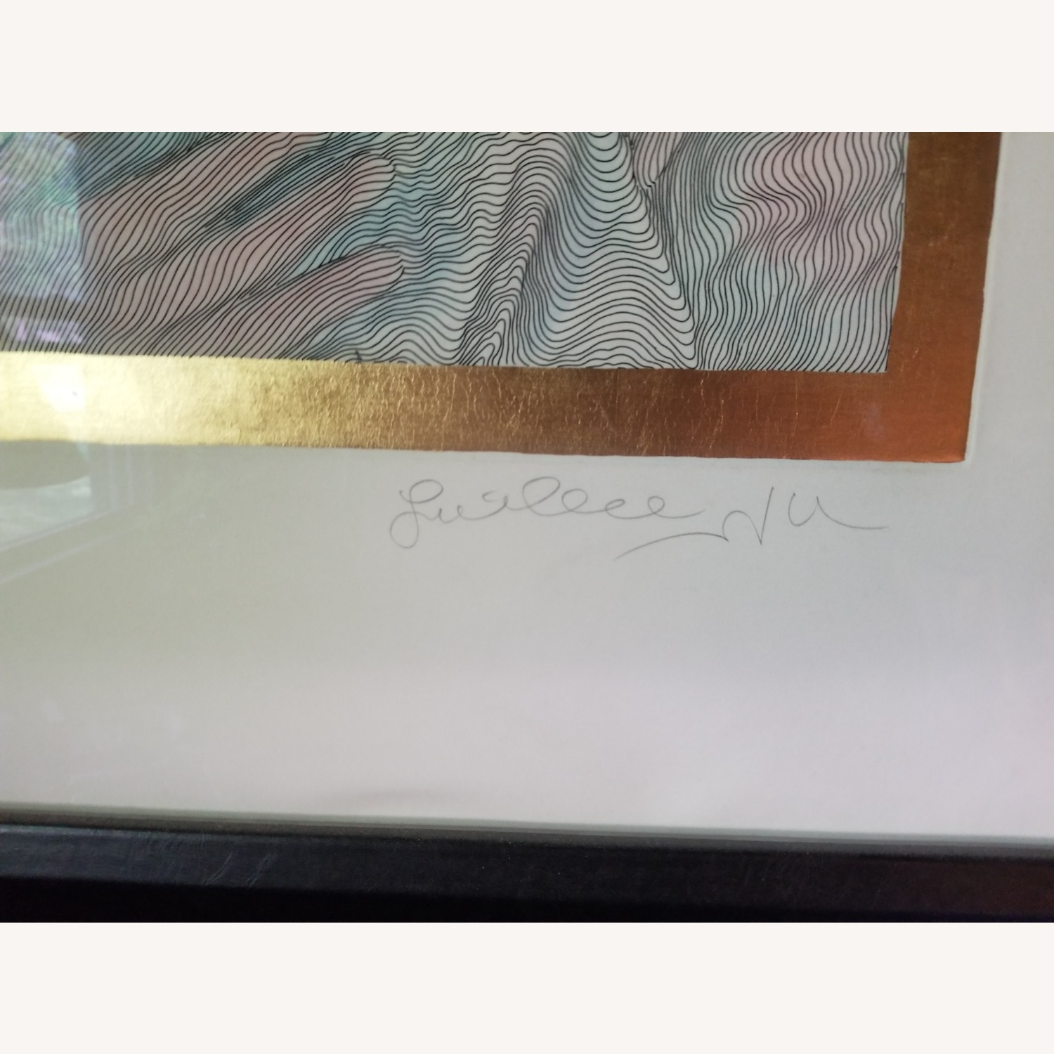 Guillaume Azoulay Original Line Drawing Lithograph - image-5