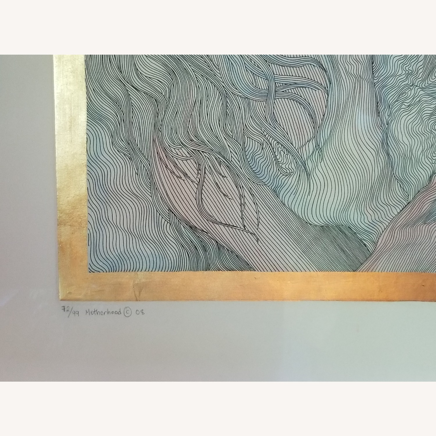 Guillaume Azoulay Original Line Drawing Lithograph - image-3