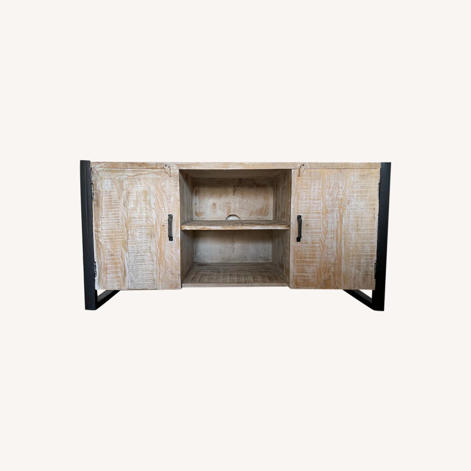 Reclaimed Wood Console - image-0