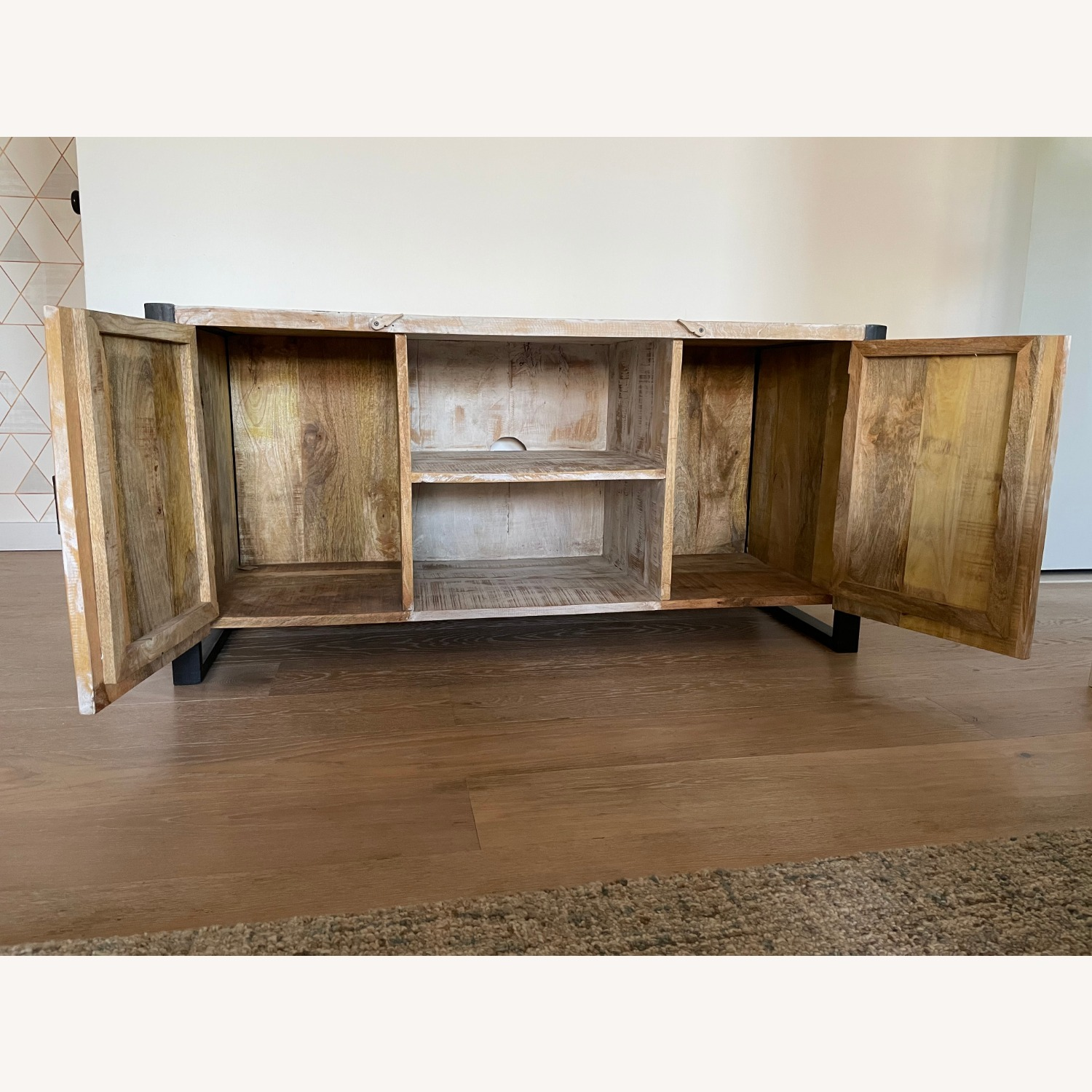 Reclaimed Wood Console - image-3