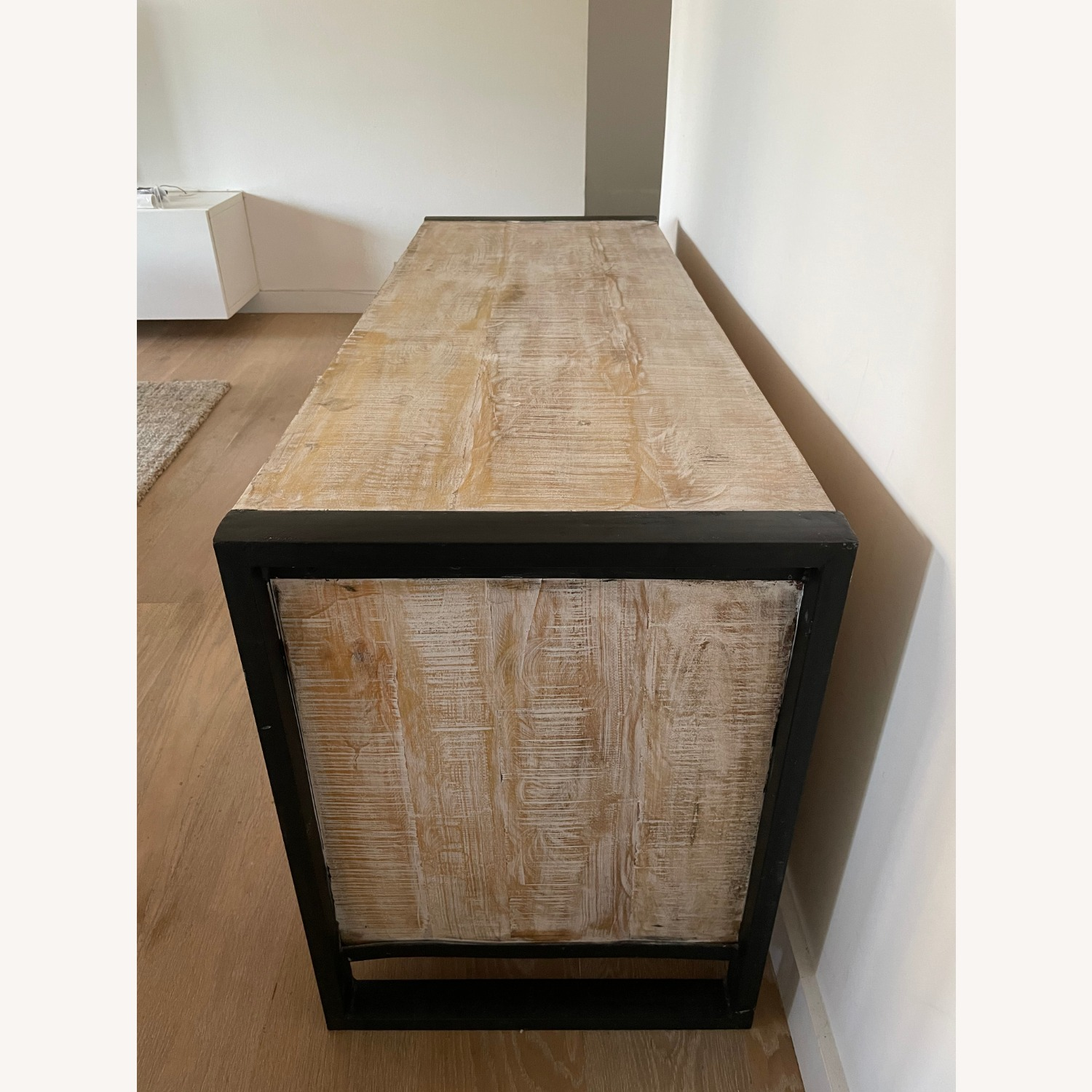 Reclaimed Wood Console - image-4